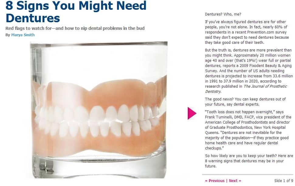 Need Dentures